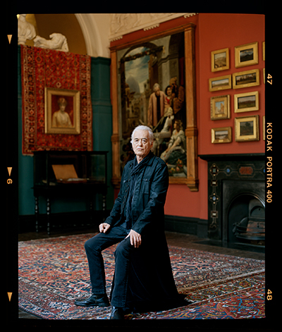 Jimmy Page in FT Magazine