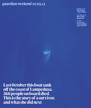 Guardian Weekend cover